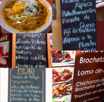 Woche 2 – Auf Entdeckungstour durch Cuscos Kueche