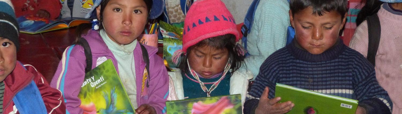 Kinderbücher für Peru
