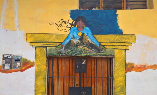 Streetart in Cusco